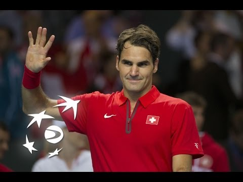 Highlights: Roger Federer (SUI) v Mikhail Kukushkin (KAZ)