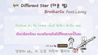 [Thai Sub] BrotherSu Feat  Lovey -  Different Star 다른 별