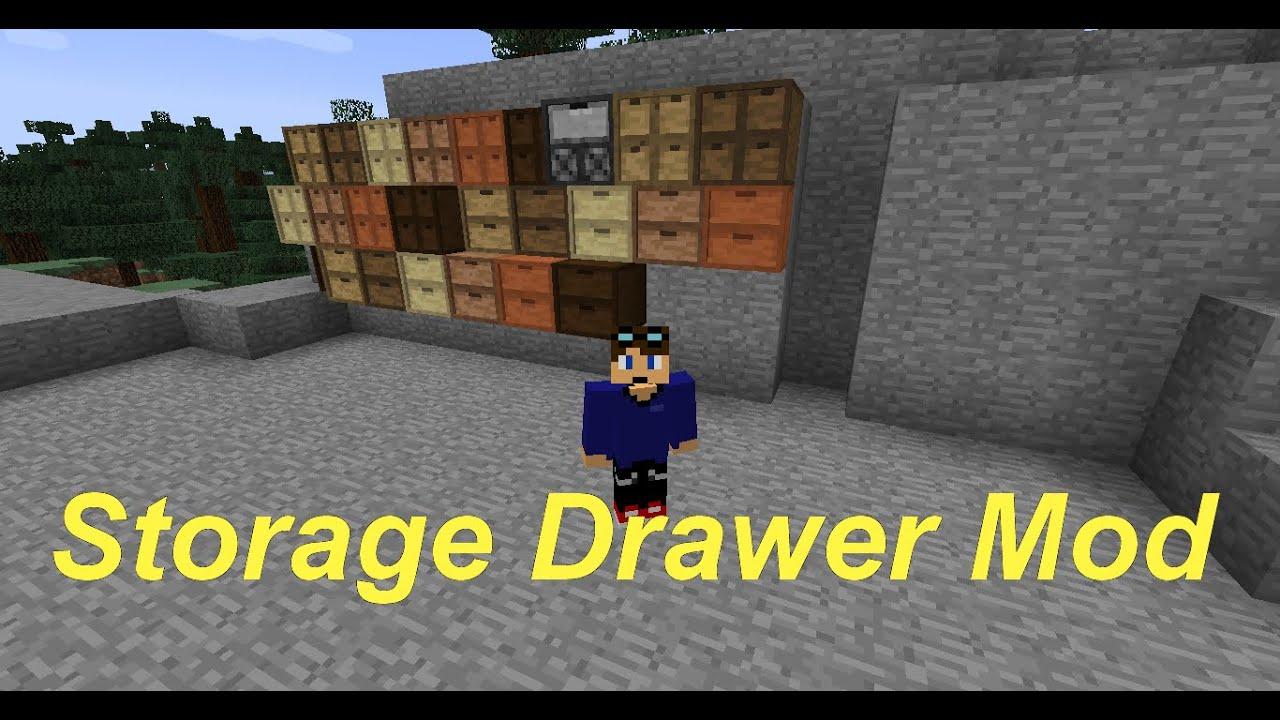Minecraft 1.7.10 Storage