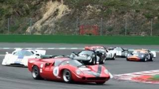 Amazing CLASSIC ENDURANCE RACING at Spa Classic - CER Racing - Ford GT40 Lola T70