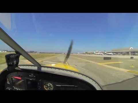 First Solo Landing [Aircraft: Evektor Sportstar Max], John Wayne Airport KSNA