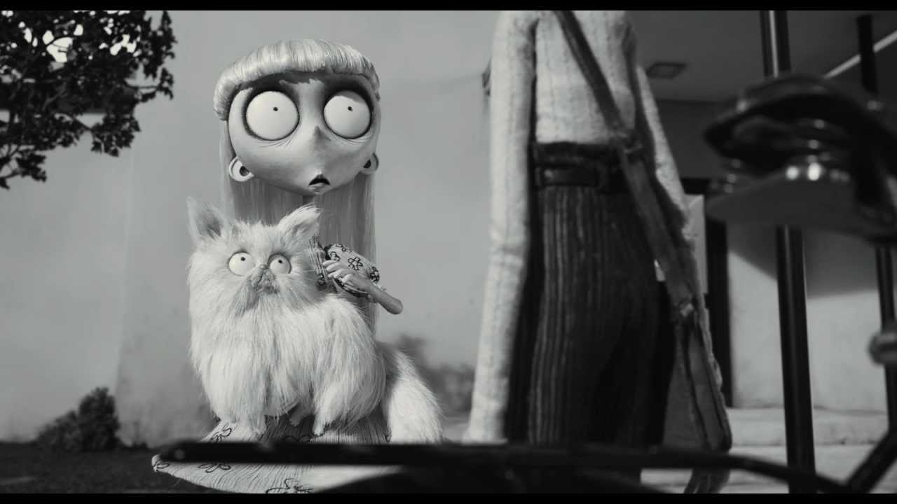 Frankenweenie quot mr whiskers dream quot clip youtube