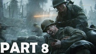 CALL OF DUTY WW2 Walkthrough Gameplay Part 8 - Hill 493 - Campaign Mission 8
