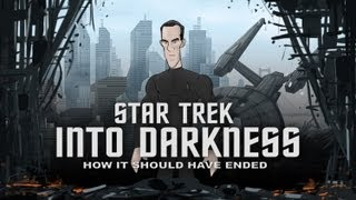 Como debió ser el final de Star Trek Into Darkness