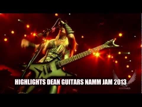 Dean Guitars Artist Laura Wilde Performs at The Grove of Anaheim Dean Guitars NAMM JAM 2013.