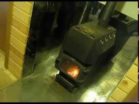 Печь быстрого тепла - все выходные на даче!