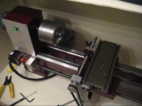9x20 Lathe Cnc Conversion Initial Testing Part 2 How
