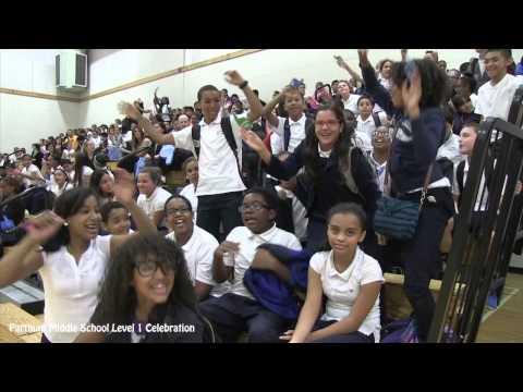 Parthum Middle School Level 1 Celebration