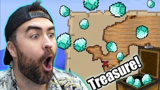 Finding All The Buried Treasure in Minecraft!