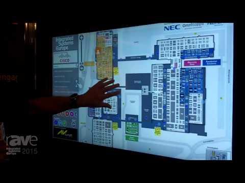 ISE 2015: Visualplanet Showcases Touchfoil via ISE Wayfinding Application