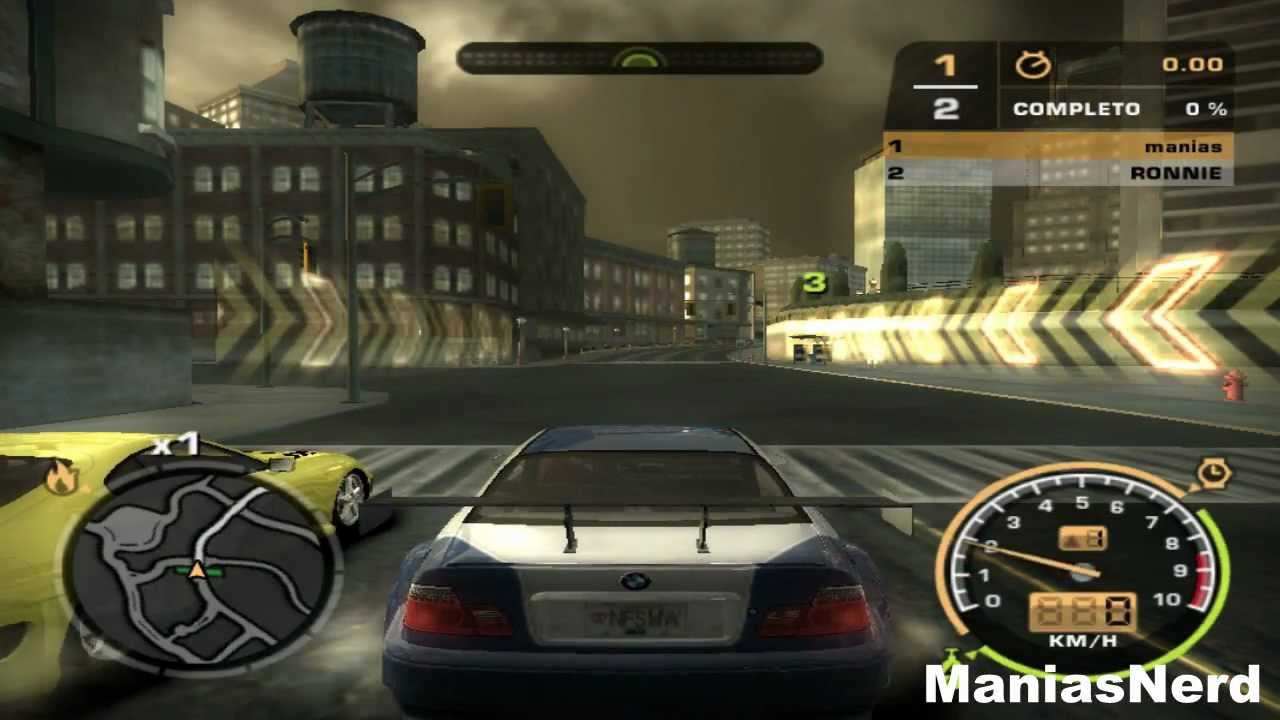 Need For Speed Most Wanted (2005 , PS2) Part 1 - YouTube Ps2 Need For Speed