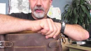 Marlondo Postal Messenger Bag
