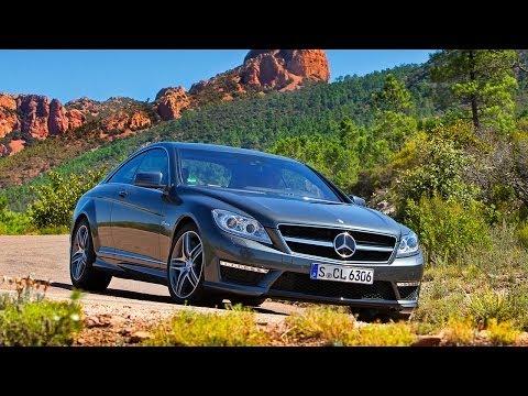 Mercedes-Benz CL 63 AMG, обзор часть1