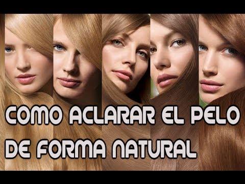 ACLARA TU PELO DE FORMA NATURAL- FACIL Y RAPIDO CON PRODUCTOS NATURALES