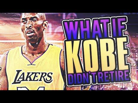 WHAT IF KOBE BRYANT DIDN'T RETIRE? LAKERS REBUILD! NBA 2K17