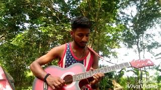 Tharaka pennale song on guitar... by Albin Vargees.