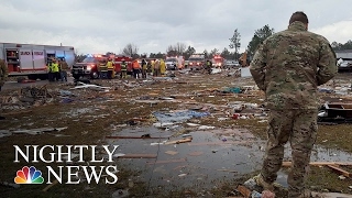 At Least 12 Dead, 23 Injured As Severe Storms Devastate Georgia | NBC Nightly News
