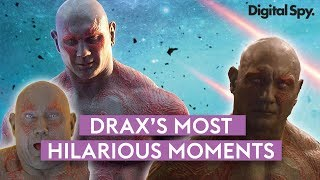 Drax's Funniest Moments & Quotes | Guardians of the Galaxy & Avengers
