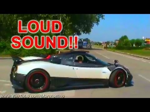 Pagani Zonda Cinque Sound - Start, Rev and Accelerations
