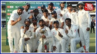Ashwin 7/59 Seals 3-0 Series Whitewash