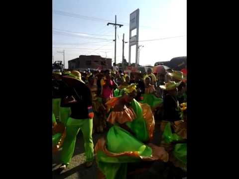 Los niños también hicieron parte de la tradicional #GranParada de caimanes en #Ciénaga