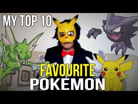 My Top 10 Favourite Pokemon