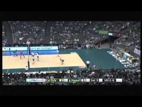 Rainbow Wahine Volleyball 2013 - #5 Hawaii Vs Cal Poly