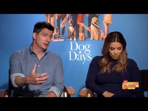 "Eva Longoria And Ken Marino Talk ""Dog Days"""