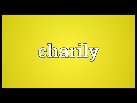 Header of charily