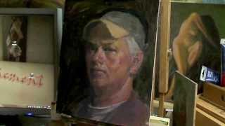 Portrait Study - 4 Colors (Anders Zorn Palette)