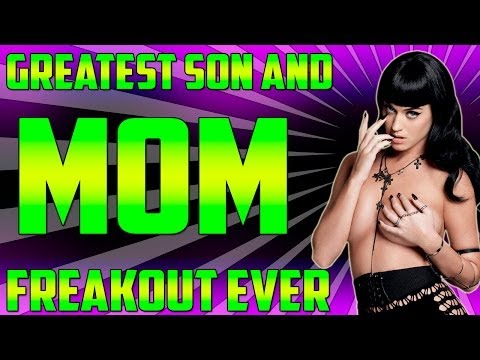"""""""Angry Mom & Son on Xbox Live"""" HUGE FREAKOUT!! UNSEEN FOOTAGE (Black Ops 2) *ORIGINAL*"""