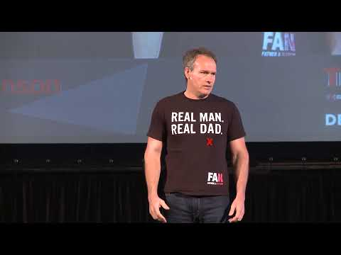 Real man. Real dad. | Craig Wilkinson | TEDxCapeTown