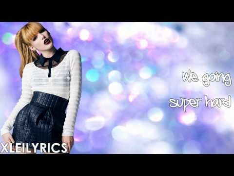 Bella Thorne - One More Night (lyrics Video) Hd video