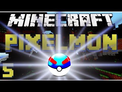 Minecraft Pixelmon: A Pixopium Adventure -Ep.5- YES! MY FIRST GREAT BALL!