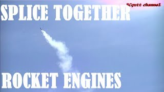 How to splice together rocket engines - Model Rocket modification