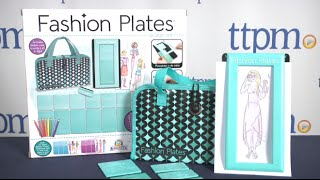 Fashion Plates Design Set from Kahootz Toys