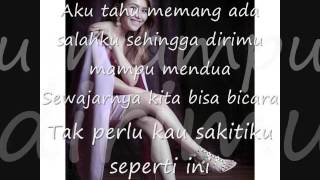 Kesakitanku (Lyric) Cover By Ayu Ting Ting