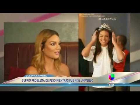 Zuleyka Rivera revela los sufrimientos al Ganar la Corona