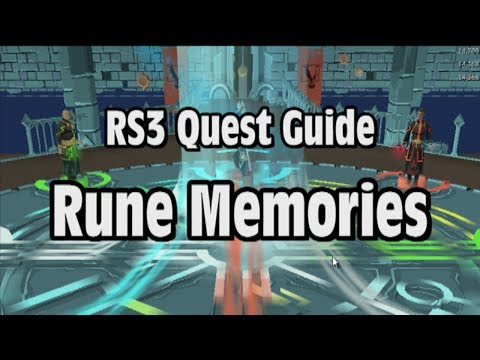 RS3: Rune Memories Quest Guide – RuneScape