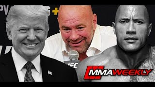 Dana White on Donald Trump and the Rock's UFC 244 Post-Fight Reactions