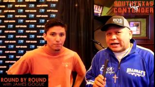 Download Lagu Round by Round with James Gogue interview with Isaac Torres Gratis STAFABAND