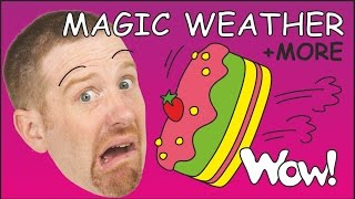Magic Picnic Weather for Kids + MORE English Stories for Children | Steve and Maggie Wow English TV