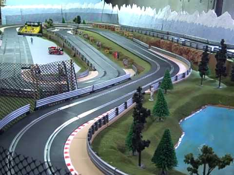 how to build a scalextric layout