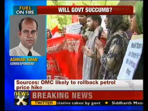 Oil Manufacturing Companies may consider partial rollback in petrol price hike