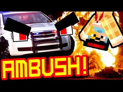 CRAZY POLICE AMBUSH !!