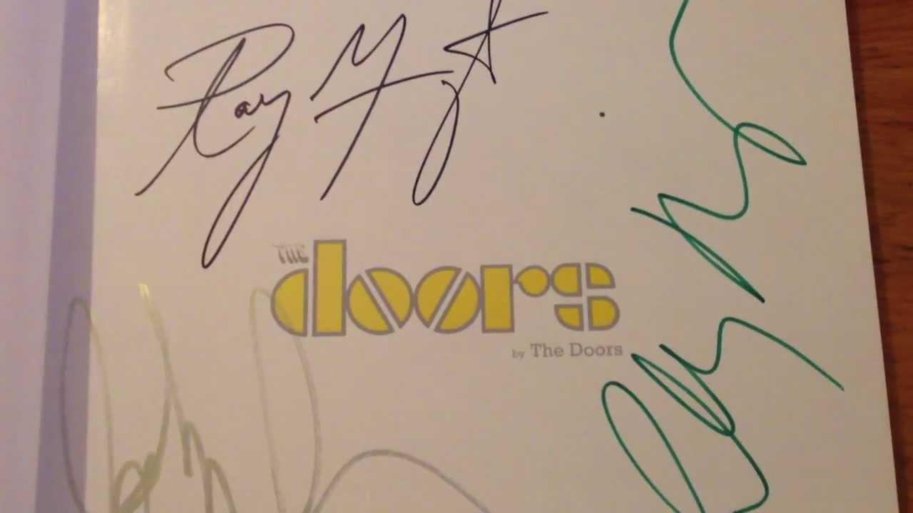 The Doors Signed At The Whisky A Go Go Youtube