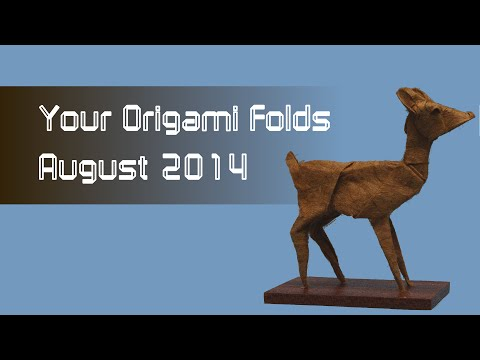 Your Origami Folds August 2014: