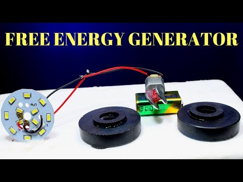 Free Energy Generator Using Magnet - Infinity Free Energy Generator Using Magnet - Free Energy 100% thumbnail