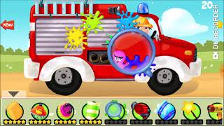 Car Wash / Car Wash For Kids / Vehicle Videos For Kids / Let's Play Car Wash