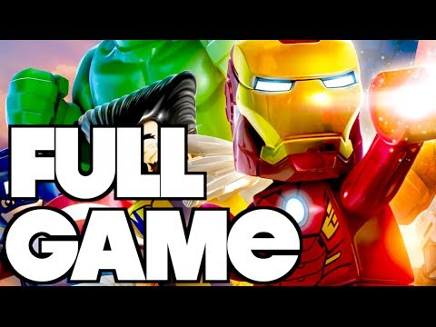 LEGO Marvel Super Heroes - FULL GAME Complete Gameplay Walkthrough Let's Play